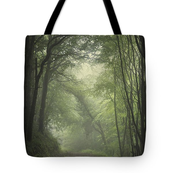 Mystery Awakens Tote Bag