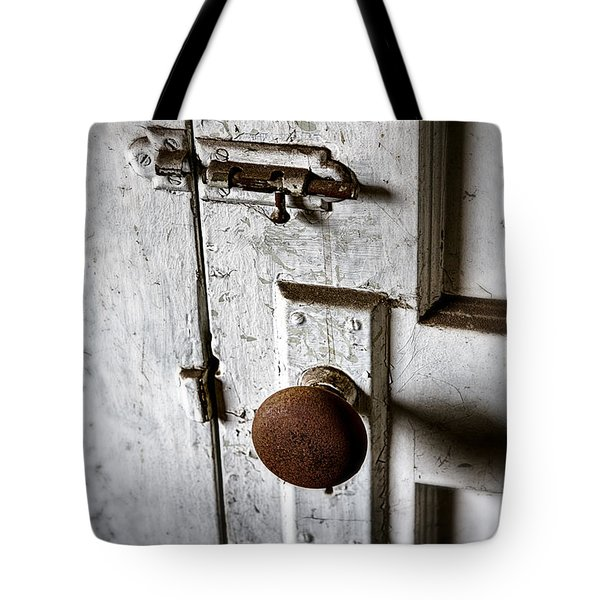 Mystery Door Tote Bag by Caitlyn  Grasso