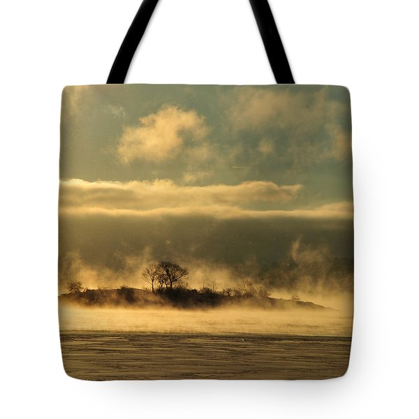 Tote Bag featuring the photograph Mystery Island by Randi Grace Nilsberg