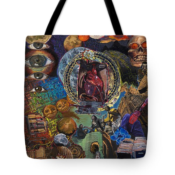 Mystery Of The Human Heart Tote Bag by Emily McLaughlin
