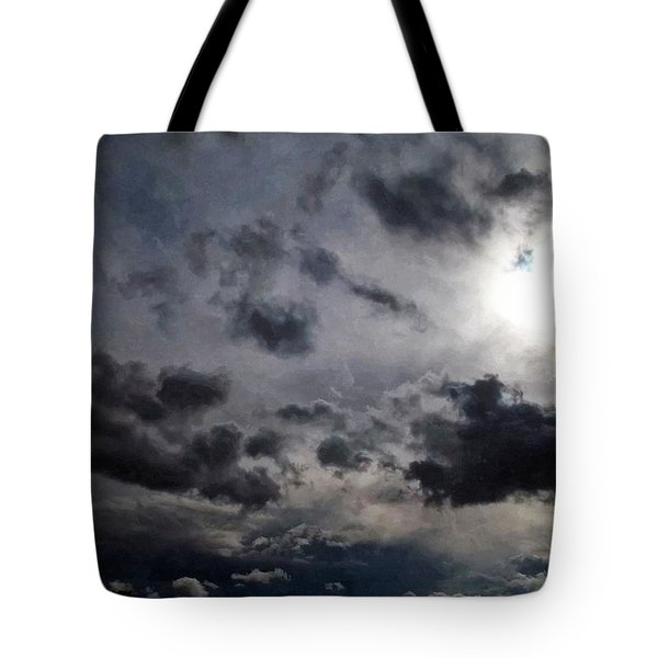 Mystery Of The Sky Tote Bag by Glenn McCarthy Art and Photography