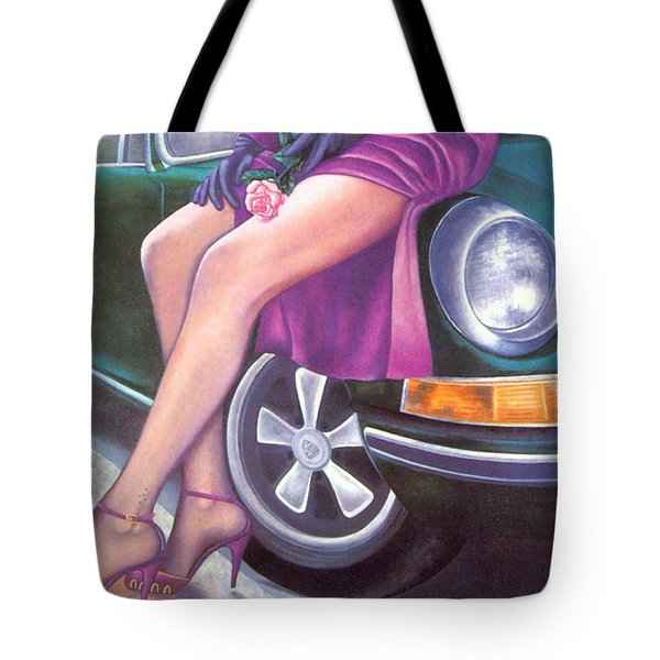 Mystery On Peter's Porsche Tote Bag