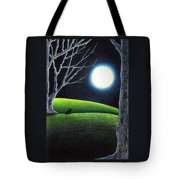 Mystery's Silence And Wonder's Patience Tote Bag