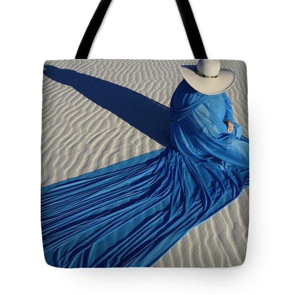 Mystic Blue 1 Tote Bag by Bob Christopher