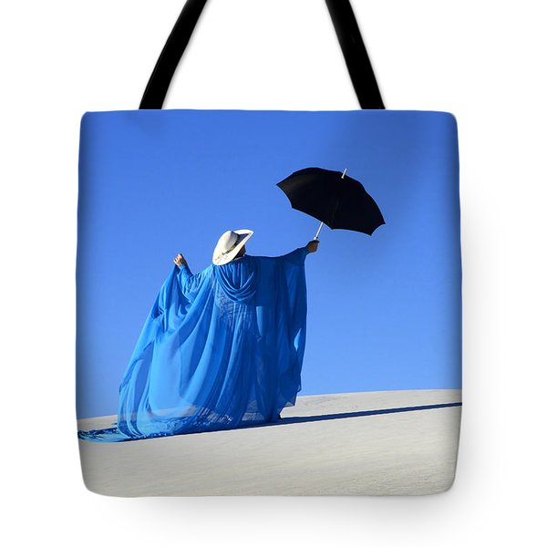 Mystic Blue 2 Tote Bag by Bob Christopher
