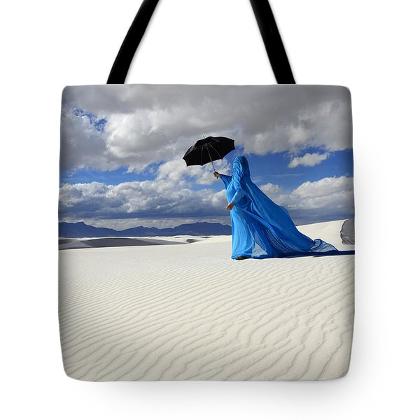Mystic Blue 8 Tote Bag by Bob Christopher
