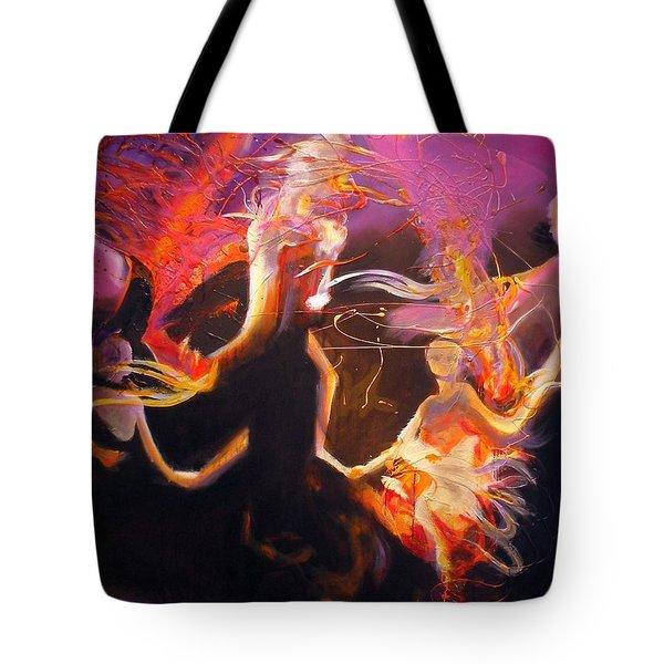 Mystic Circle Tote Bag by Georg Douglas