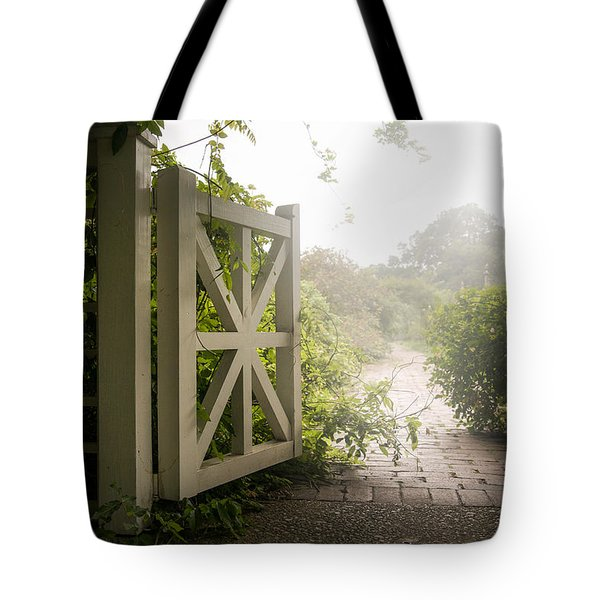 Mystic Garden - A Wonderful And Magical Place Tote Bag by Gary Heller