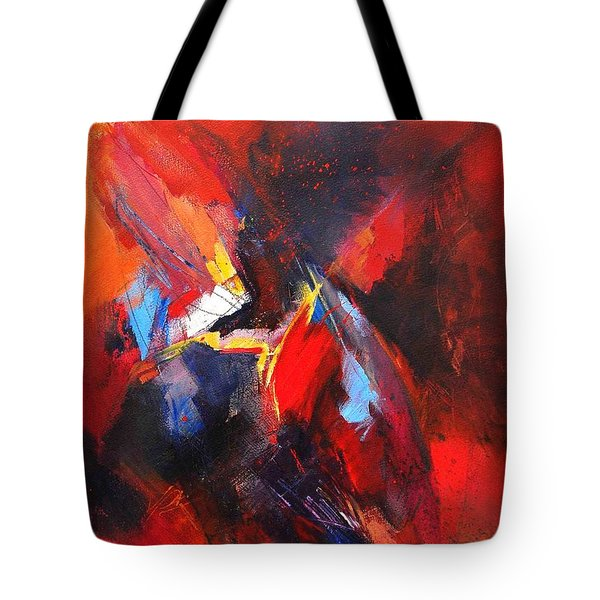 Mystic Image Tote Bag by Glory Wood