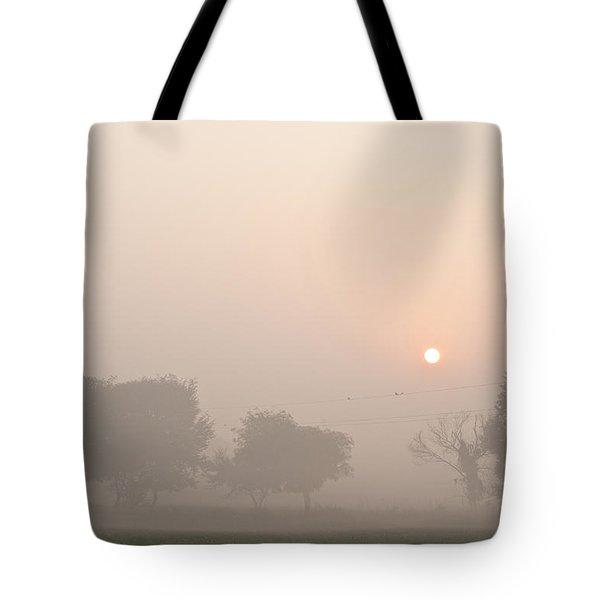 Mystic Landscape Tote Bag by Lana Enderle