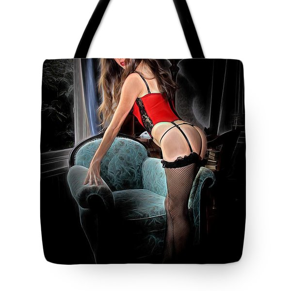 Mystic Lingerie Tote Bag