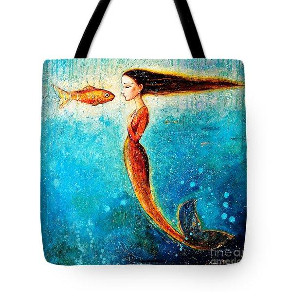 Mystic Mermaid II Tote Bag