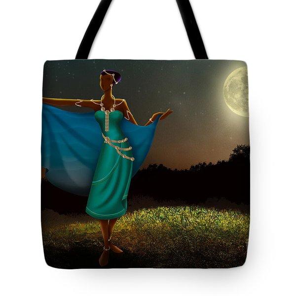 Mystic Moonlight V1 Tote Bag by Bedros Awak