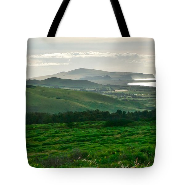 Mystic Morning Tote Bag