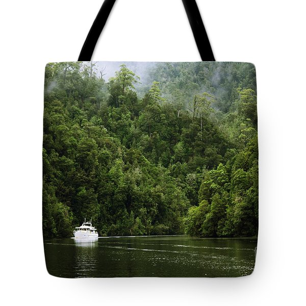 Mystic River Tote Bag by Jola Martysz
