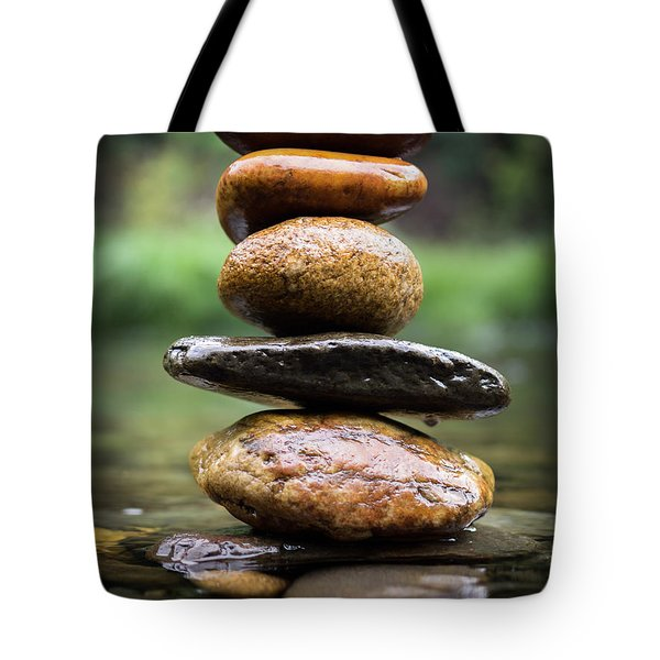 Mystic River S2 Xii Tote Bag by Marco Oliveira