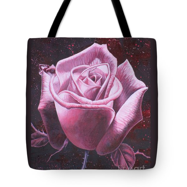 Mystic Rose Tote Bag