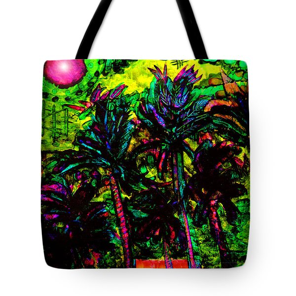 Tote Bag featuring the digital art Mystic View Of Iao Valley by Susanne Still