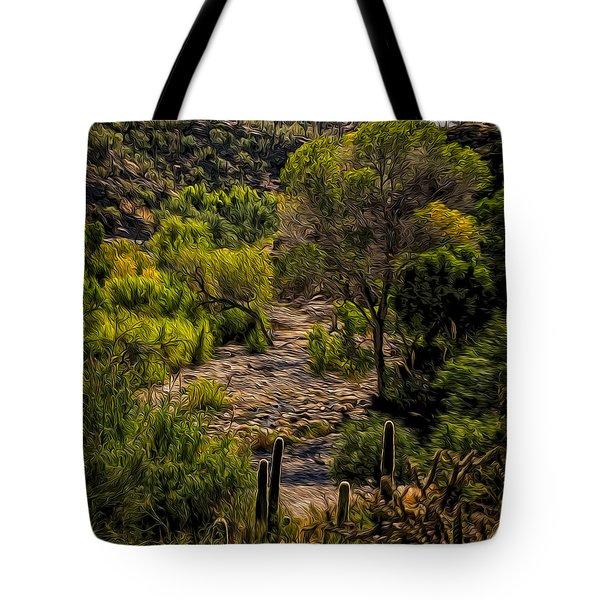 Mystic Wandering Tote Bag