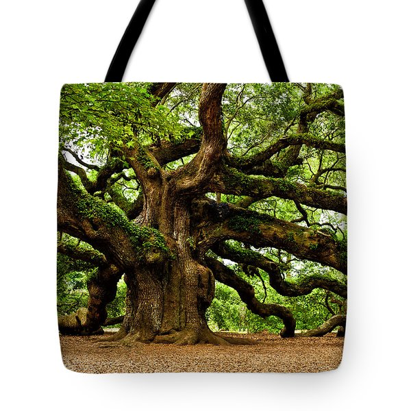 Mystical Angel Oak Tree Tote Bag