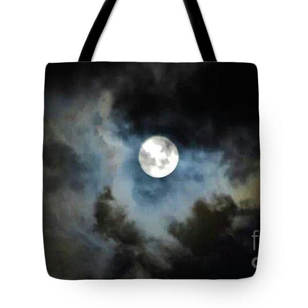 Mystical Clouds Tote Bag