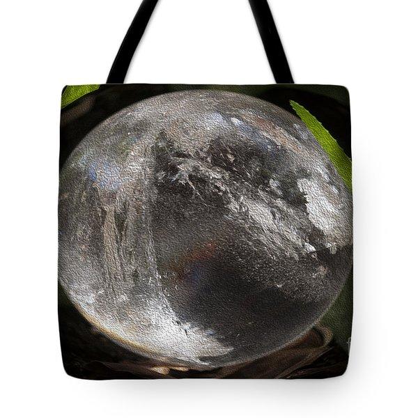 Mystical Crystal Sphere Tote Bag