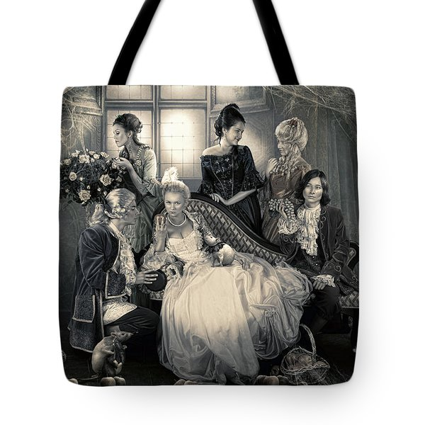 Mystical Family Tote Bag by Cindy Grundsten