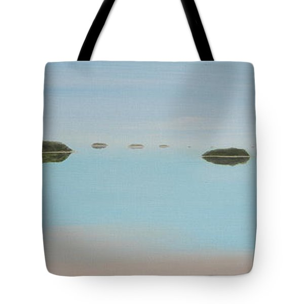 Mystical Islands Tote Bag by Tim Mullaney