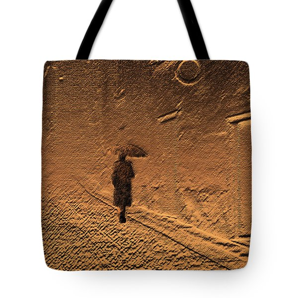 Mystical Journey Of The Shadow Of Your Soul In Extraneous World Tote Bag by Jenny Rainbow
