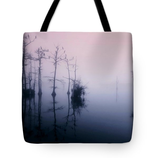 Mystical Morning On The Lake Tote Bag