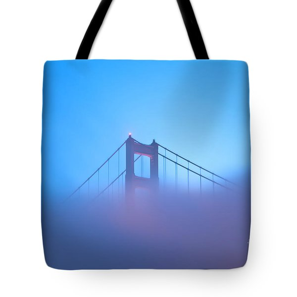 Tote Bag featuring the photograph Mythical Gate by Jonathan Nguyen