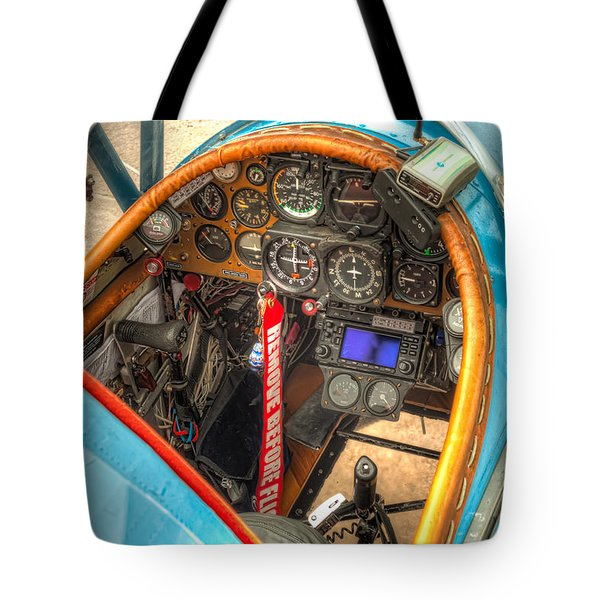 N1g Interior Tote Bag by Tim Stanley