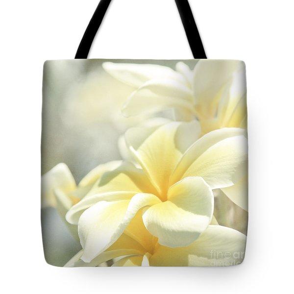 Na Lei Pua Melia Aloha E Ko Lele Tote Bag
