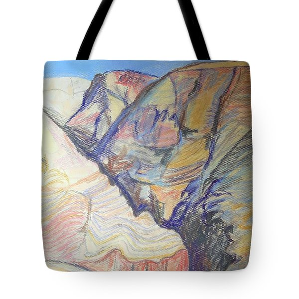 Nachal Darga Canyon Tote Bag by Esther Newman-Cohen