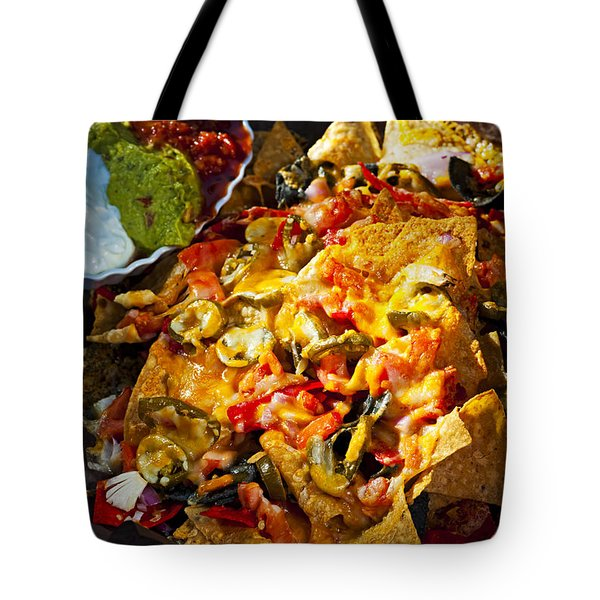 Nacho Basket With Cheese Tote Bag by Elena Elisseeva