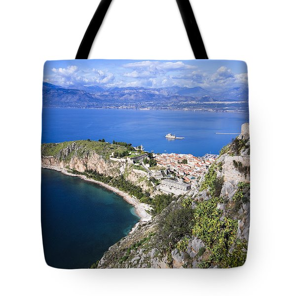 Nafplio Peninsula Tote Bag