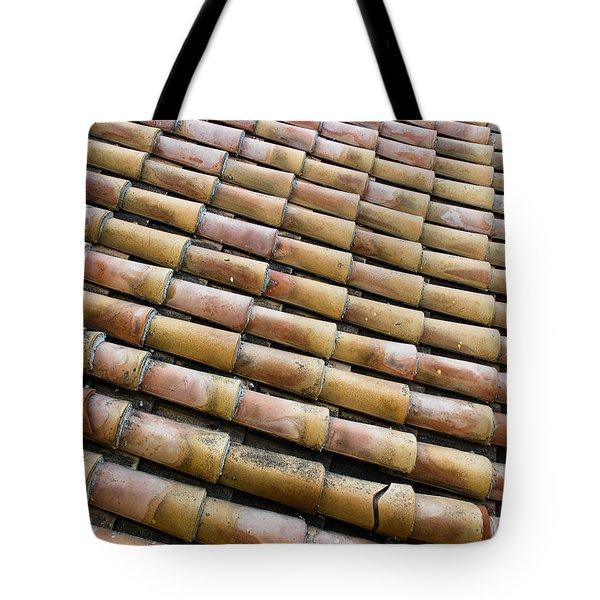 Nafplio Roof Tiles Tote Bag