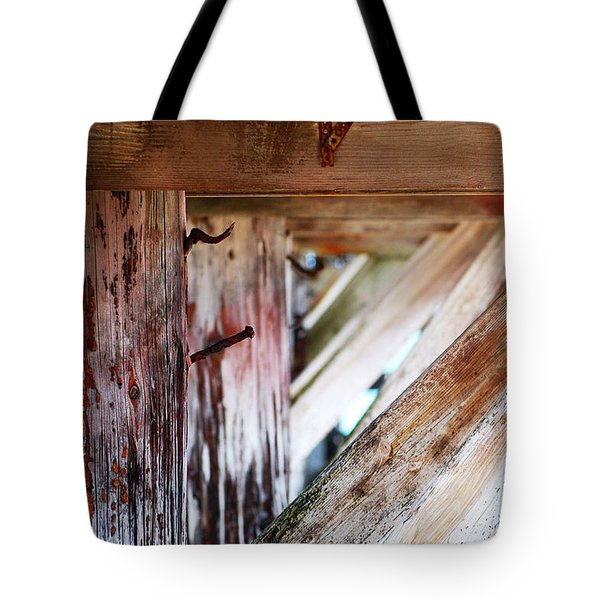 Nailed It Tote Bag by Holly Blunkall