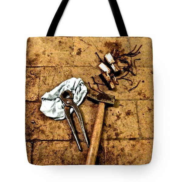 Nails Removed Tote Bag