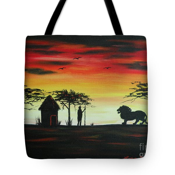 Nairobi Sunset Tote Bag