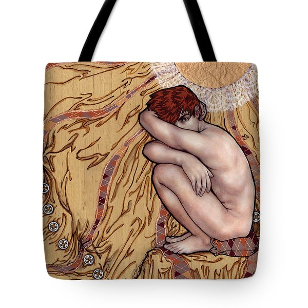 Naked Man In A Clothed World Tote Bag