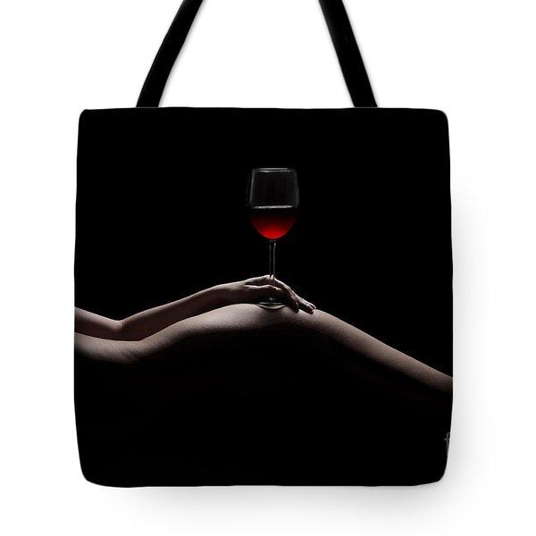 Naked Wine Tote Bag
