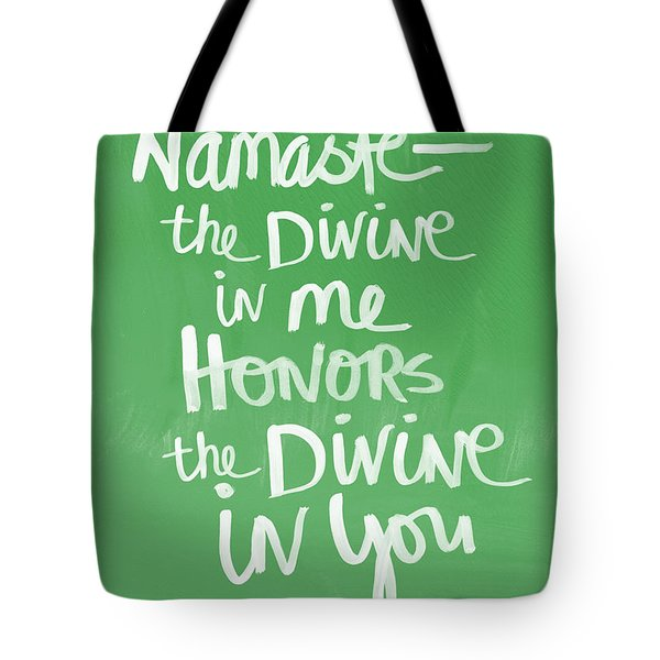 Namaste Card Tote Bag
