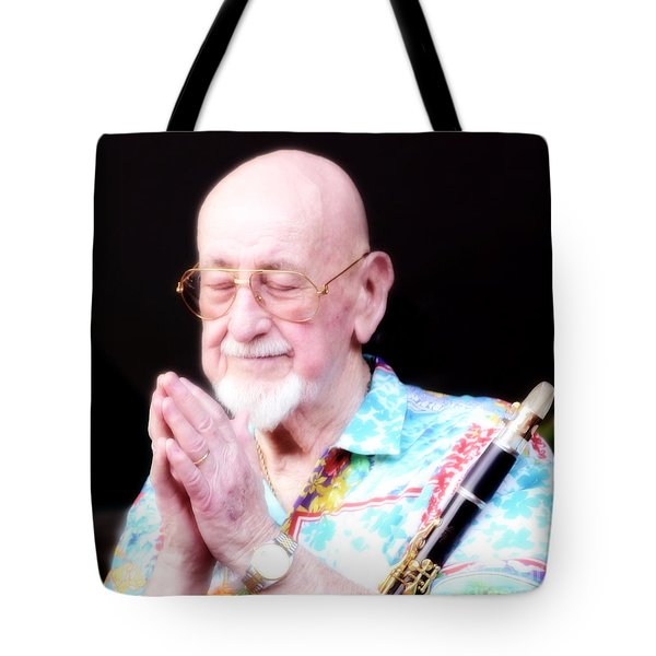 Namaste From Pete Fountain Tote Bag