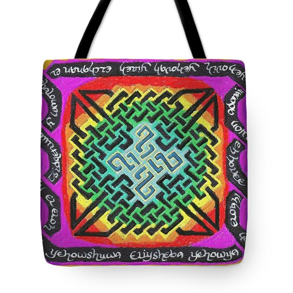 Names Of Yhwh Tote Bag