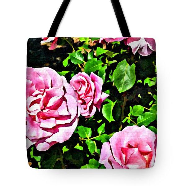 Nana's Roses Tote Bag