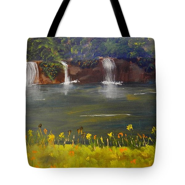 Nandroy Falls In Queensland Tote Bag