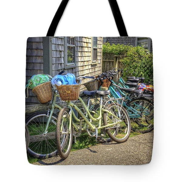 Nantucket Bikes Tote Bag
