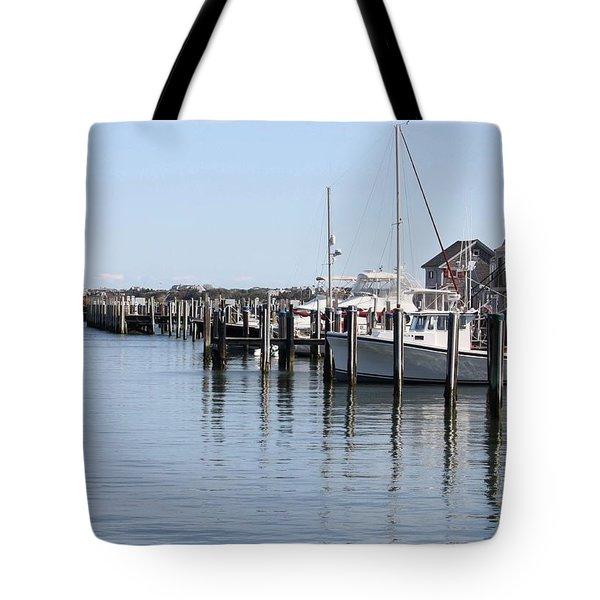 Nantucket Harbor Tote Bag
