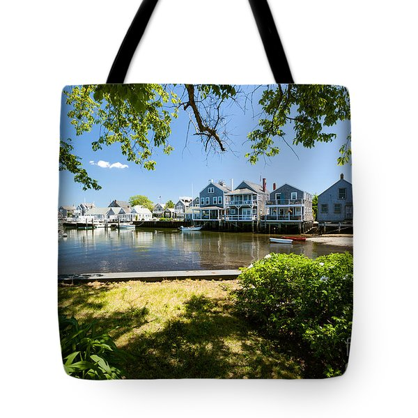 Nantucket Homes By The Sea Tote Bag
